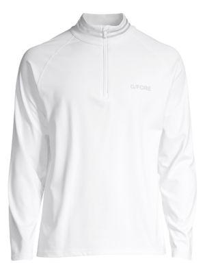 G/FORE Raglan Printed Sweatshirt in Snow