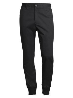 G/FORE Slim-Fit Jogger Pants in Onyx