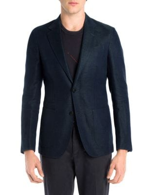 Chevron Jacket by Z Zegna