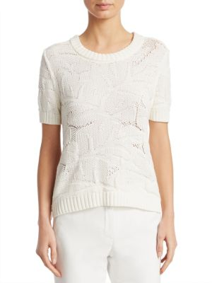 Jacquard Knit Sweater by Akris Punto