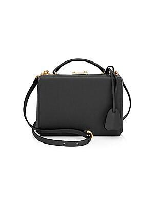 08f22245883e Mark Cross - Grace Metallic Leather Mini Box Bag - saks.com