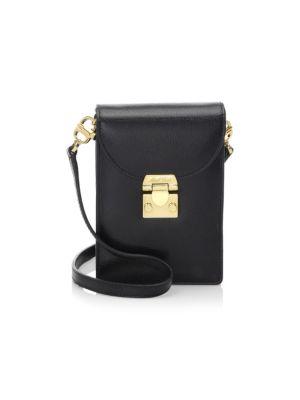 Mark Cross Josephine Leather Mini Bag