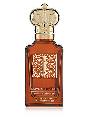 Image of Woody floral and a sparkling blend of dry amber, cedarwood and bright mandarin encapsulate the delicious dichotomy between dark and light. 1.6 oz. Imported. Fragrances - Clive Christian > Saks Fifth Avenue. Clive Christian.