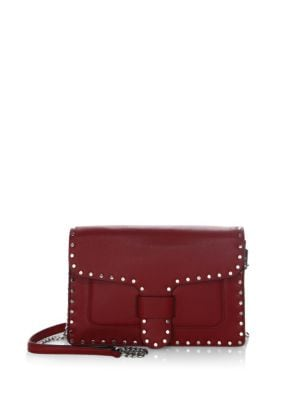 Midnight Medium Leather Crossbody Bag by Rebecca Minkoff
