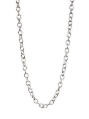 STEPHANIE KANTIS Sterling Silver Pebble Chain Necklace