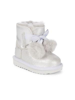 b6097b7fec5 Baby's, Toddler's & Kid's T Gita Metallic Fur Boots