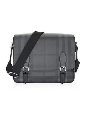 fb3393d3d Burberry - Medium Hendley Tartan Messenger Bag