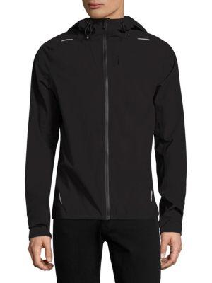 J. LINDEBERG Active Cordlock Running Jacket in Black