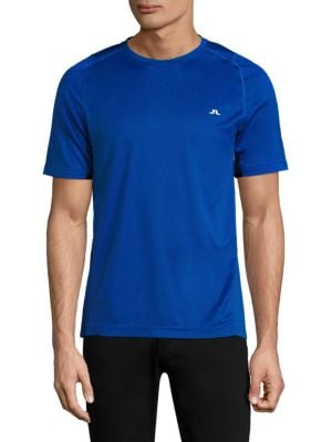 J. LINDEBERG Active Tee in Strong Blue