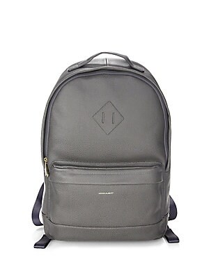 6768cf89d1c0 hook + ALBERT - Chris Paul Collaboration Grain Leather Expansion Backpack