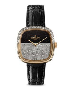 Shinola Eppie Sneed Diamond Watch