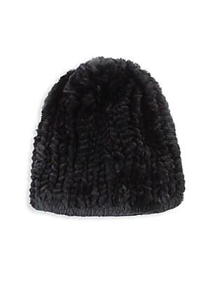 f7d8ae2124a Surell - Rabbit Fur Knit Headband - saks.com