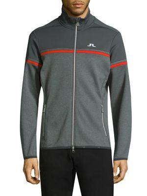 J.LINDEBERG Tanaga Track Jacket in Grey