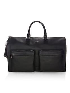 2b0fb05dd0 hook + ALBERT. Gen 2 Leather Garment Weekender Bag