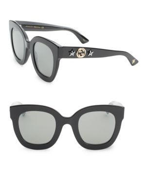 Oversized Rectangle Sunglasses by Gucci