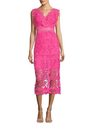 Thurley Coney Island Lace Midi Dress