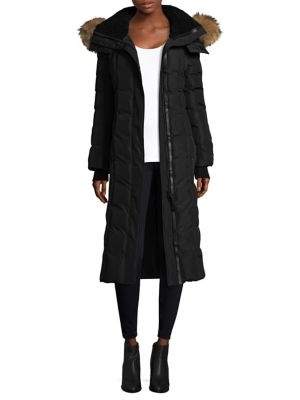 Mackage Fur Trimmed Down Coat