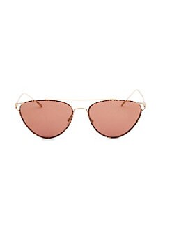 56e744e9621 Cat Eye. Oliver Peoples - Floriana 56MM Mirrored Cat Eye Sunglasses