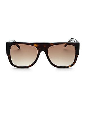 5eb39cc7f64 CELINE - 60MM Flat Top Sunglasses - saks.com