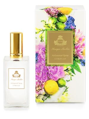 Image of Add an instant burst of Citrus Lily fragrance to any room with a spritz of AirEssence Spray. The ideal companion to the AirEssence and the new PetiteEssence flower diffusers, Citrus Lily is now available in the convenience of a spray. Scents: California l