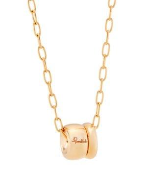 Pomellato Iconica 18K Rose Gold Pendant Necklace