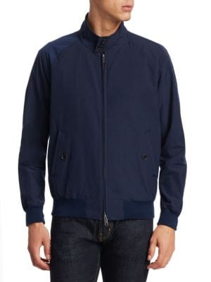 BARACUTA G9 Original Zip Jacket in Navy