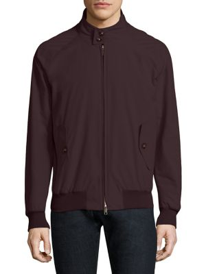 BARACUTA G9 Original Zip Jacket in Rasin