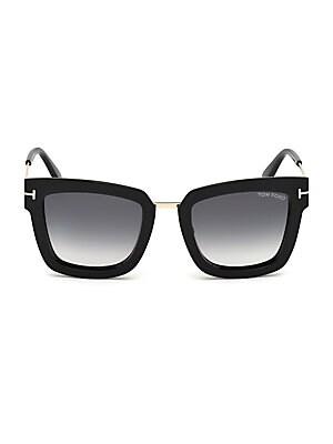 97176e438c Tom Ford - Lara Square Sunglasses - saks.com