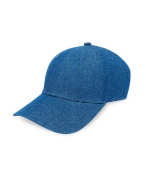 GENTS Classic Cotton Baseball Cap in Blue