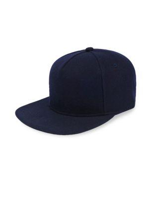 GENTS Chairman Wool Baseball Cap in Navy