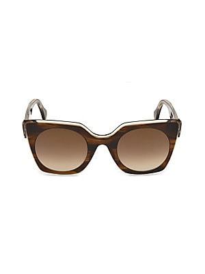 f131b9d3b8 Tom Ford - India 53MM Butterfly Sunglasses - saks.com