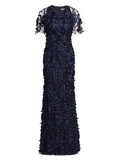 bed4b1aa QUICK VIEW. Theia. Beaded Floral Gown