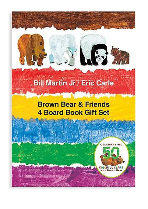 Brown Bear  Friends Four Board Book Gift Set