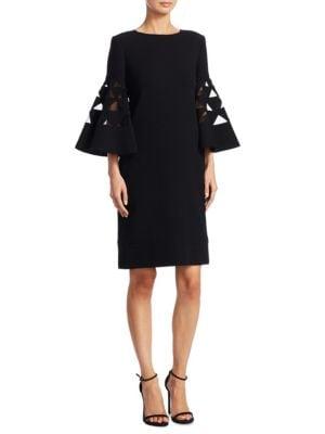 Wool Triangle Dress