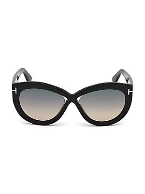 fe6229689f0 Tom Ford - 50MM Beatrix Square Sunglasses - saks.com