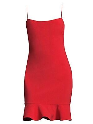 70cd2aeb32dfb Alice + Olivia - Kirby Ruffled Dress - saks.com