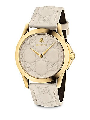 G Timeless Signature Watch by Gucci