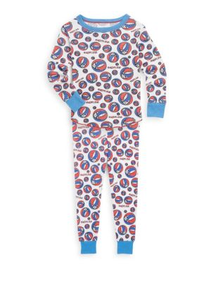 Toddlers Little Boys  Boys Grateful Dead Cotton Pajamas