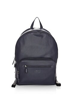 1742f7b4e679 Polo Ralph Lauren. Pebbled Leather Backpack