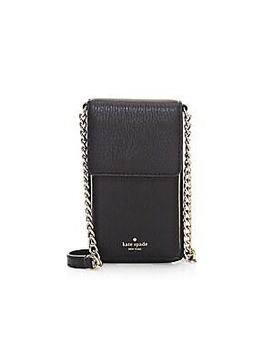 6a6ece940760 Kate Spade New York - North South Leather Crossbody Bag - saks.com
