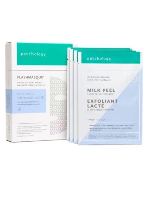 Patchology 4-Piece Flashmasque Milk Peel Set   SaksFifthAvenue