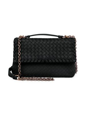 Baby Olimpia Shoulder Bag by Bottega Veneta