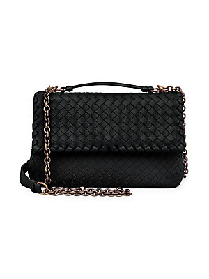 e872f3343158 Bottega Veneta - Olimpia Medium Leather Shoulder Bag - saks.com