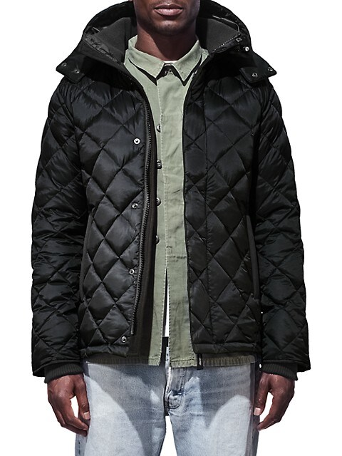Hendriksen Quilted Down Jacket