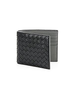 e6f122d9d52 Bottega Veneta - Woven ID Wallet - saks.com