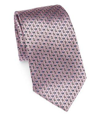 Ermenegildo Zegna  Pinwheel Print Tie