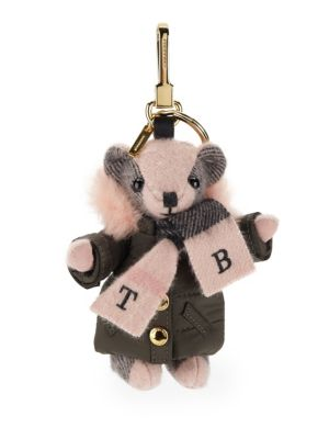 Image of Thomas Bear Charm in Puffer Coat and Scarf