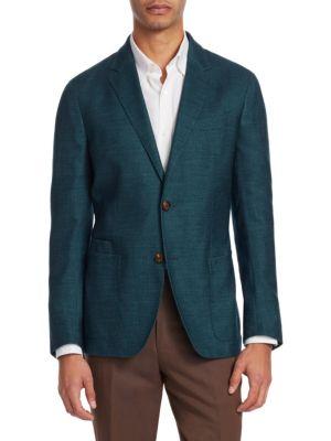 Ermenegildo Zegna  Silk & Cashmere Sportcoat
