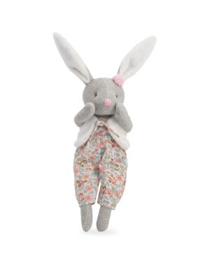 Babys Bunny Knit Cotton Toy