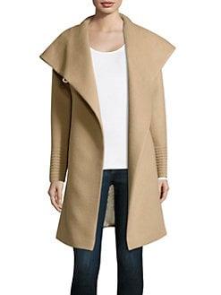 Women's Apparel - Coats - Wool & Cashmere - saks.com
